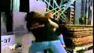 The Undertaker Tosses Steve Austin Through On Glass Window!