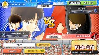 TPL vs KWSG - Captain Tsubasa Dream Team