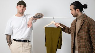 How To Style Overṡized (Relaxed/Wide Fit) Clothes