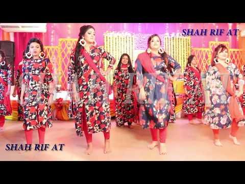 Bangladeshi Gaye Holud single & Group dance HD video | how to dance in Gaye holud coreography...