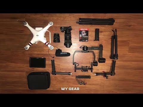 MY TRAVEL FILM-MAKING GEAR | (Music Videos - Travel Film - Short Film - Corporate)