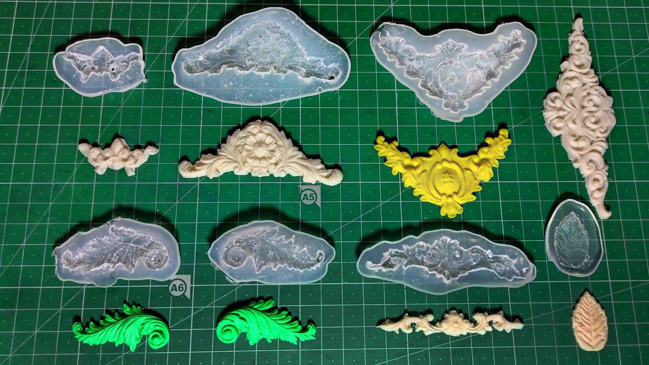 Hot Ballons  MoldHot Ballons polymer clay moldplaster mold resins mold epoxy resinsgypsumconcrete