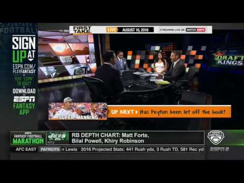 ESPN FIRST TAKE 8 16 2016 NFL SAYS JAMES HARRISON, CLAY MATTHEWS WILL BE SUSPENDED