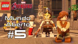 LEGO Vingadores - Missão de Agente Carter, Beth e Garota Esquilo - Mundo Aberto #5