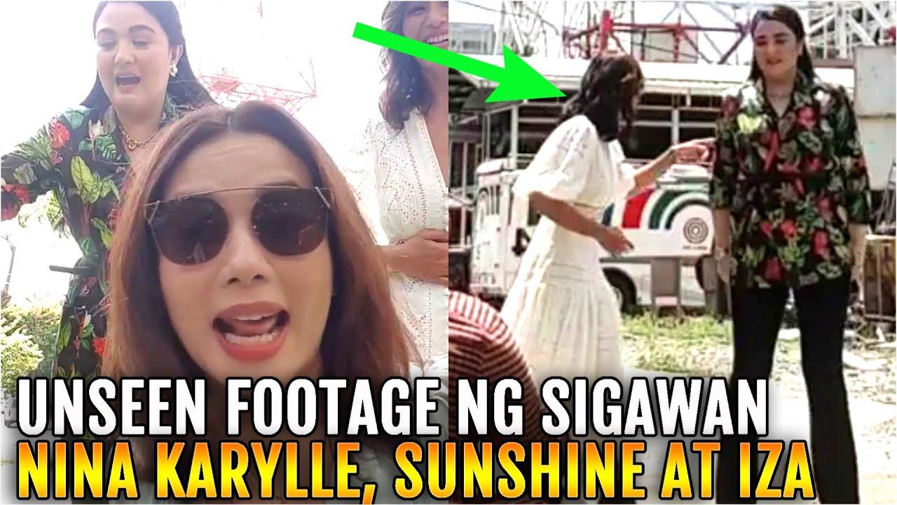 Unseen Footage SIGAWAN nina KARYLLE, IZA at SUNSHINE after Magandang Buhay Episode!!