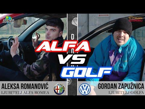 DNEVNJAK i Polovni automobili - Alfa vs Golf