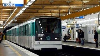 Paris Metro - Line 3 - MF 67 - Havre-Caumartin