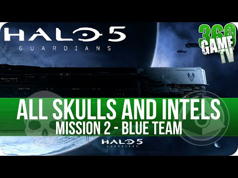 Halo 5: Guardians - All Collectible Locations - Mission 1: Osiris ...