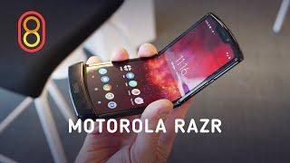 Гибкий Motorola RAZR — первый обзор