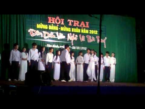 Văn nghệ trường THPT Tân Bình Thời Trang Học Đường.mp4