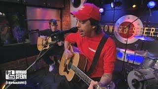 """Foo Fighters """"Monkey Wrench"""" (Acoustic) on the Howard Stern Show (2000)"""