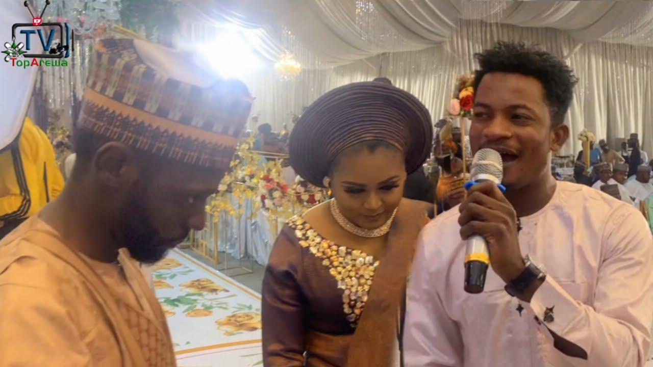 Download Hamisu Breaker - 2021 Gidan Biki Show Performance At Abuja Maryam Mangal Wedding Dinnar
