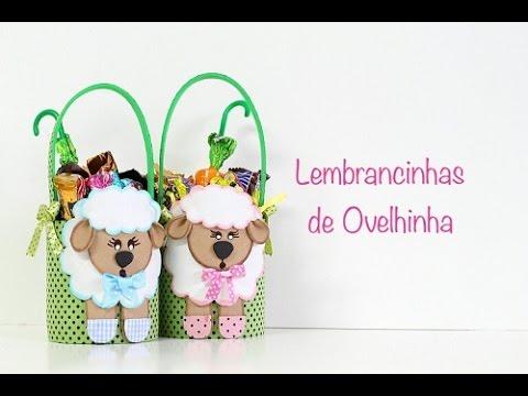 Reciclagem Com Latinhas Lembrancinha De Ovelhinha Youtube