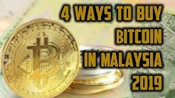 4 ways to buy Bitcoin in Malaysia 2019