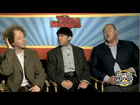 The Three Stooges - Larry, Moe, Curly Interview