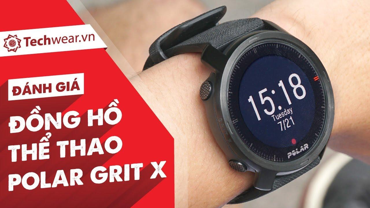 Đánh giá POLAR GRIT X - Đồng hồ thể thao GPS chuyên nghiệp, KẺ THÁCH THỨC Garmin Fenix Series