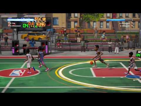 Kwibus playing NBA Playgrounds on Xbox One