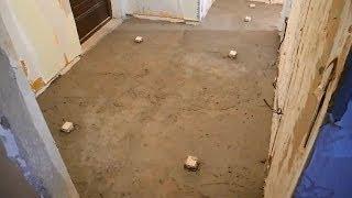 Смотреть видео чтоб керамзит не всплывал перед стяжкой бетона что нужно делать