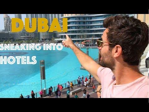 TRY TO SNEAK IN BURJ AL ARAB!
