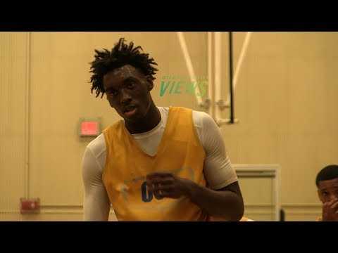 UNC Commit!! Nassir Little Is Too Strong Too Explosive!! UCF Camp Highlights