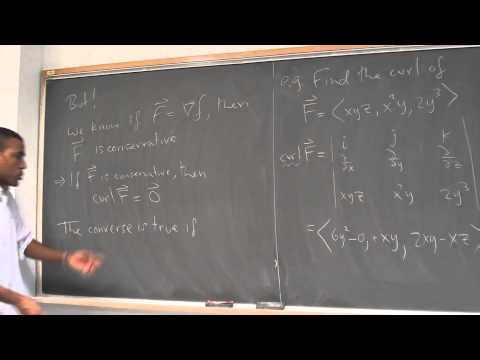 Math 392 Lecture 8 - Curl and Divergence and their interpretations