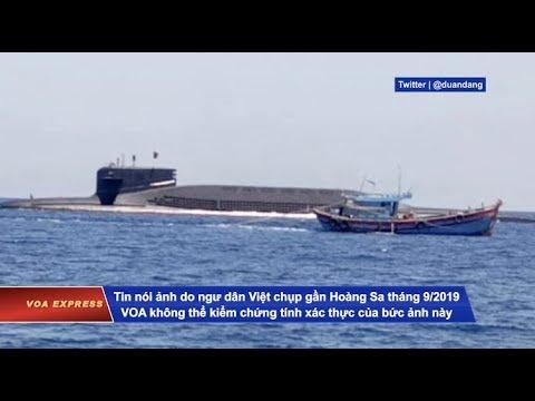 Tàu Ngầm Hạt Nhân TQ Nổi Lên Giữa Các Tàu Cá VN ở Biển Đông (VOA)