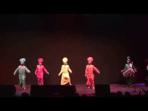 Belgium Bhangra Group Performance at Sukhwinder Singh Concert - Antwerpen 2016