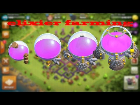 Clash of Clans - How To Get Elixir Fast