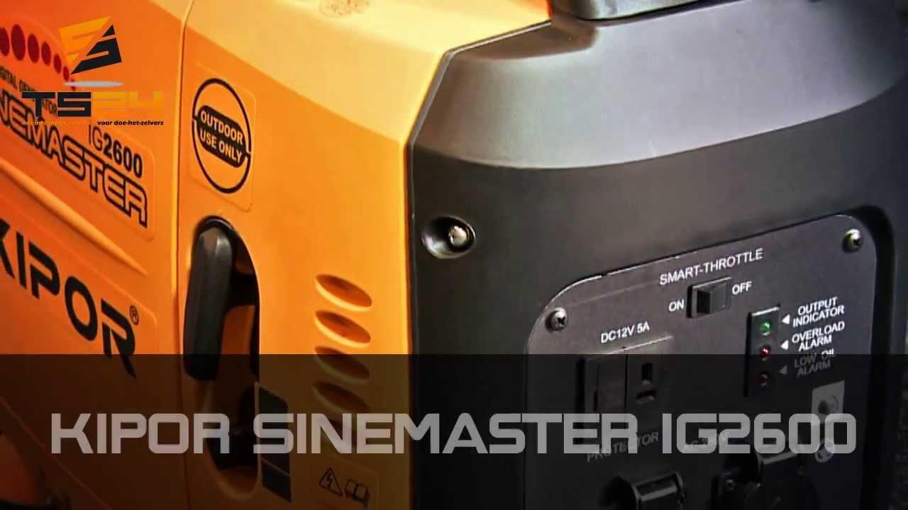 Kipor Sinemaster IG2600 Inverter Benzine Generator