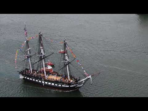 History of the USS Constitution by Micro-Mark