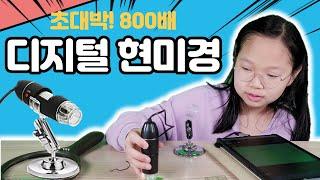 초대박 800배 디지털 현미경 / USB 현미경 / 왕…