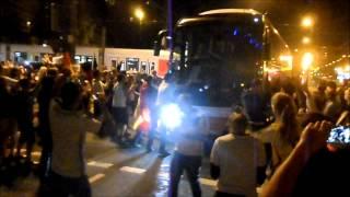 Düsseldorf nach dem WM Sieg gegen Argentinien 2014