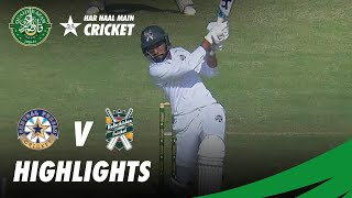 Short Highlights | Central Punjab vs Balochistan | DAY 2 | QA Trophy 2020-21 | PCB | MC2O