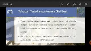Penyebab terbanyak anemia pada kehamilan dan nifas adalah perdarahan dan Anemia Defisiensi Besi (Fe).