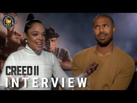 Tessa Thompson and Michael B. Jordan on Creed II and More