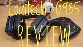 Logitech G935 wireless gaming headset unboxing and review