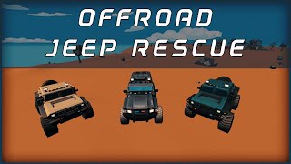 Offroad Jeep Rescue: Survival Games 2019 - Gameplay