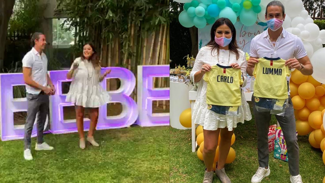 Óscar Jiménez y Mariana Echeverría revelan el género de su primer bebé