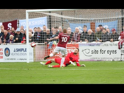 Highlights: South Shields 1-2 Hartlepool United