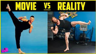Can We Survive Jean-Claude Van Damme's Workout Routine?   Movie Vs Reality