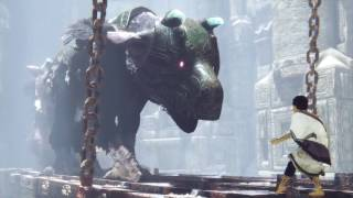 The Last Guardian - Trico VS Evil Trico (Guardian Boss Fight)