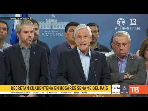 Se suspenden clases por dos semanas en Chile: Piñera anuncia nuevas medidas por coronavirus