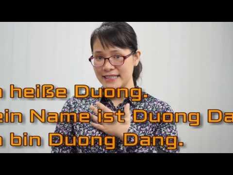 Học tiếng Đức cùng cô Thùy Dương-Bài 1: Chào hỏi, Giới thiệu tên
