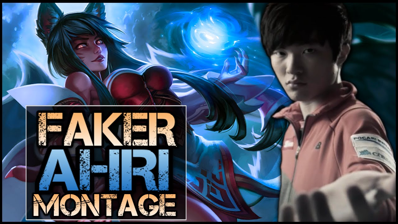 Tuyển tập Hồ li Ahri trong tay siêu cao thủ Faker