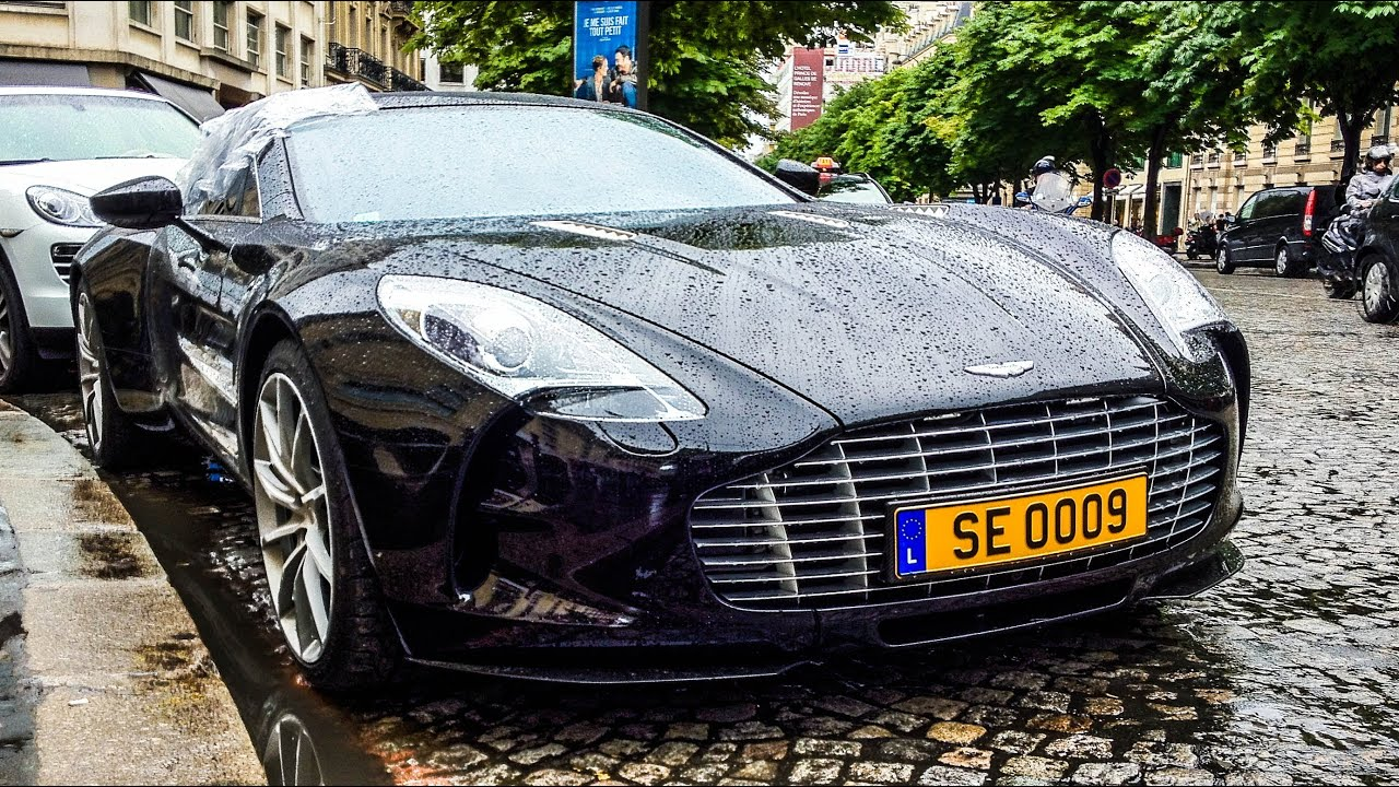 Samuel Eto O S Broken Aston Martin One 77 Youtube