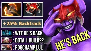 EPIC Pro Madness Battle Fury Void Imba +25% Backtrack Talent - Old Void is Back WTF Dota 2