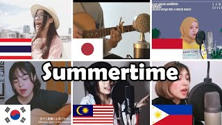 Who Sang it Better: Cinnamons x Evening Cinema - Summertime (Indonesia,Japan,Thailand,Malaysia)