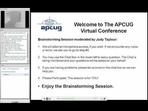 APCUG VC#3 Brainstorming for User Groups