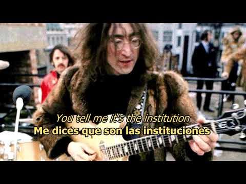 Revolution 1 - The Beatles (LYRICS/LETRA) [Original]