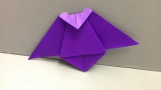 Daily Origami: 160 - Bat